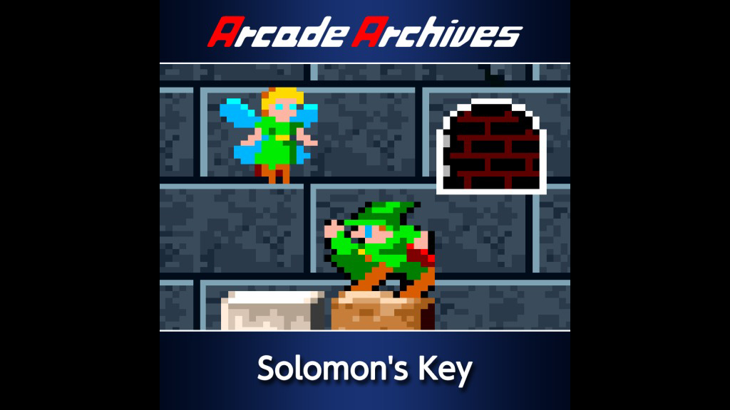 197a91ea157d Arcade Archives Solomon s Key Game