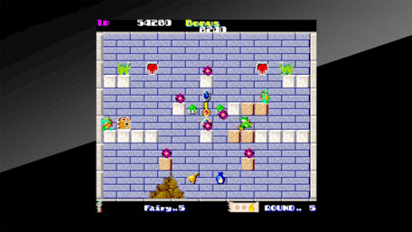 Arcade Archives Solomon's Key Trailer Screenshot
