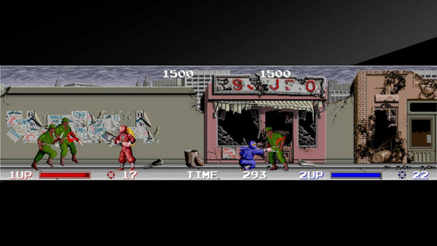 Arcade Archives THE NINJA WARRIORS Screenshot 10