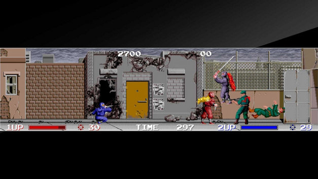 Arcade Archives THE NINJA WARRIORS Screenshot 1