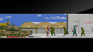 Arcade Archives THE NINJA WARRIORS Screenshot 2
