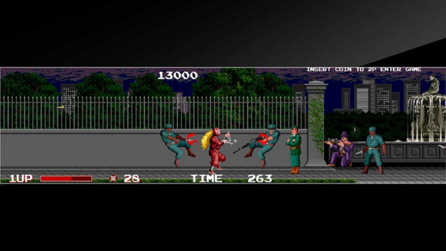 Arcade Archives THE NINJA WARRIORS Screenshot 7