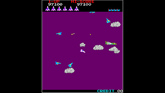 Arcade Archives TIME PILOT - Screenshot INDEX