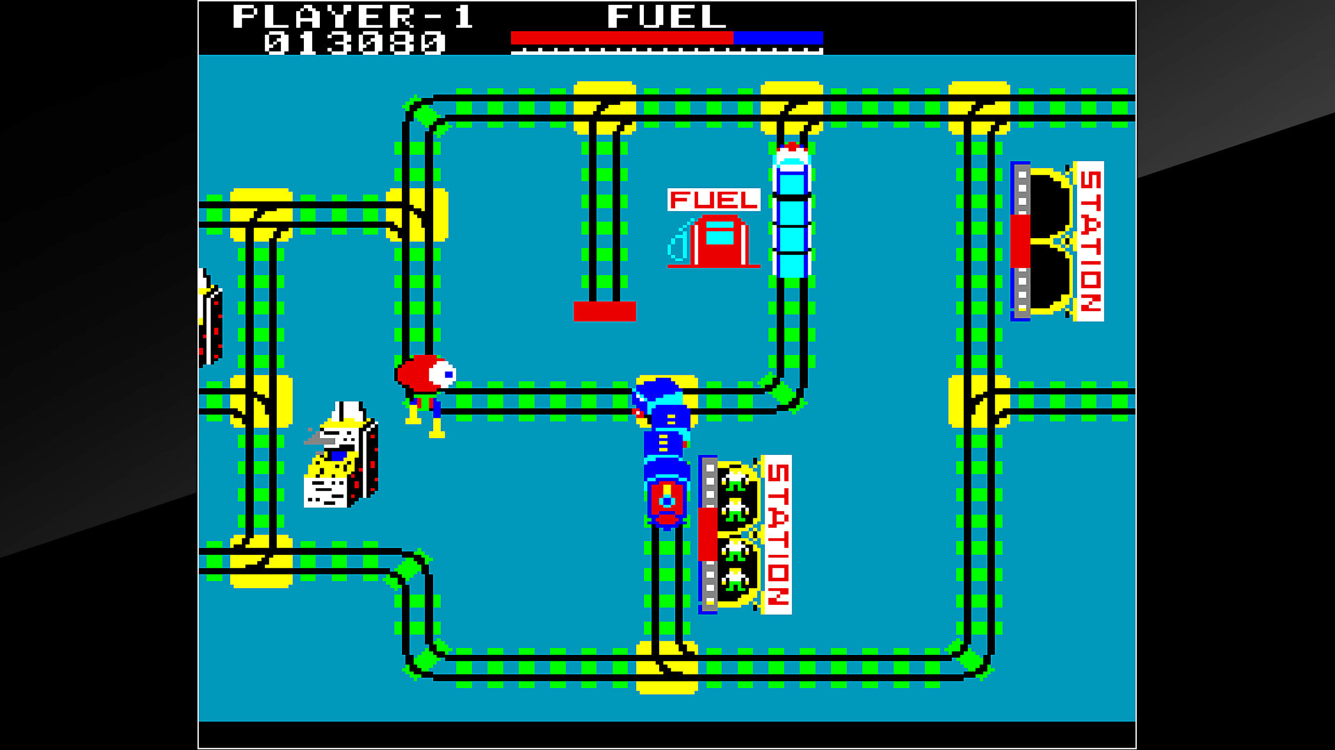 Arcade Archives TIME TUNNEL en acción