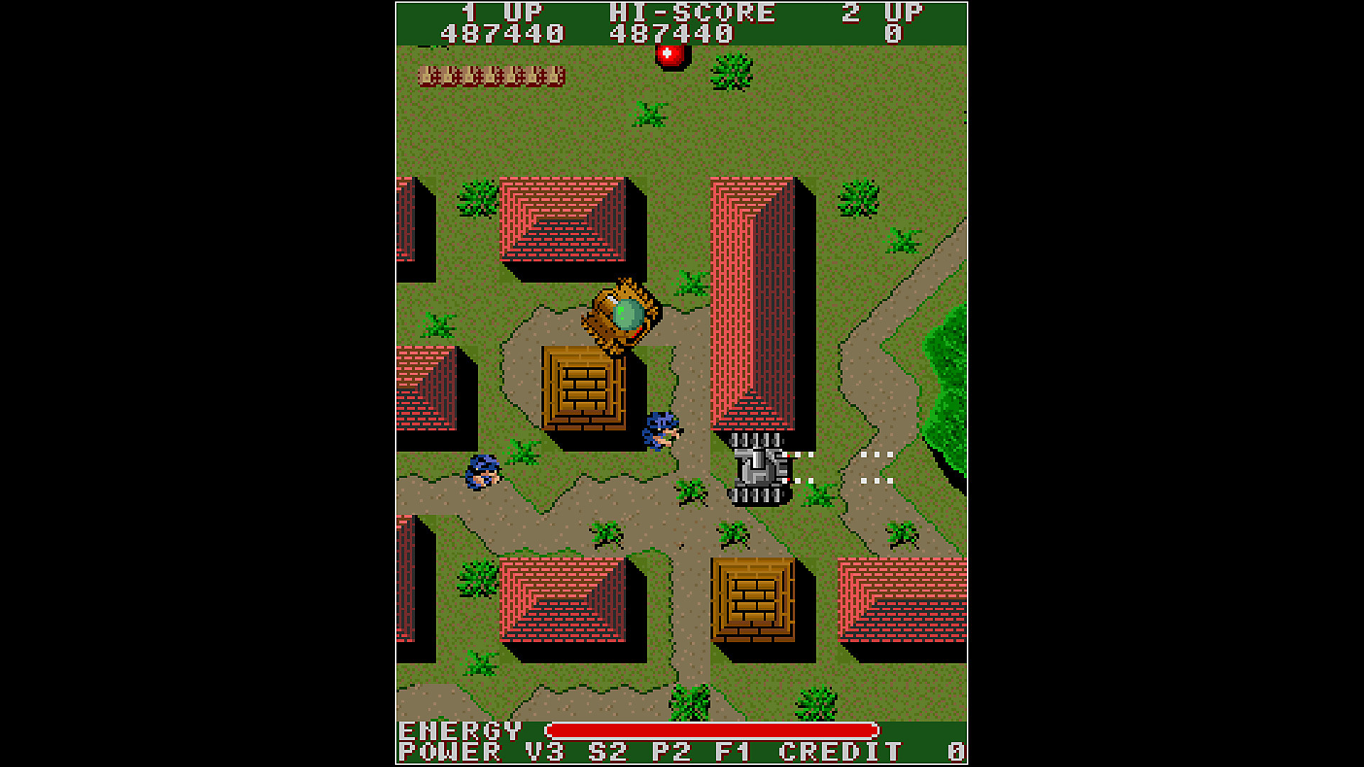 Arcade Archives T.N.K. III in Action