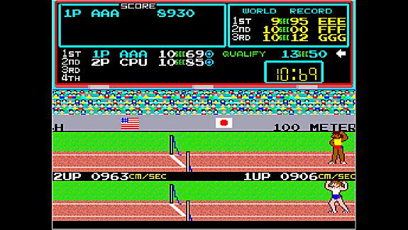 Arcade Archives TRACK & FIELD - Screenshot INDEX