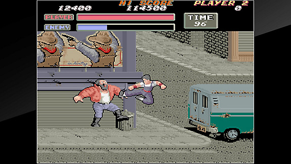Arcade Archives VIGILANTE - Screenshot INDEX