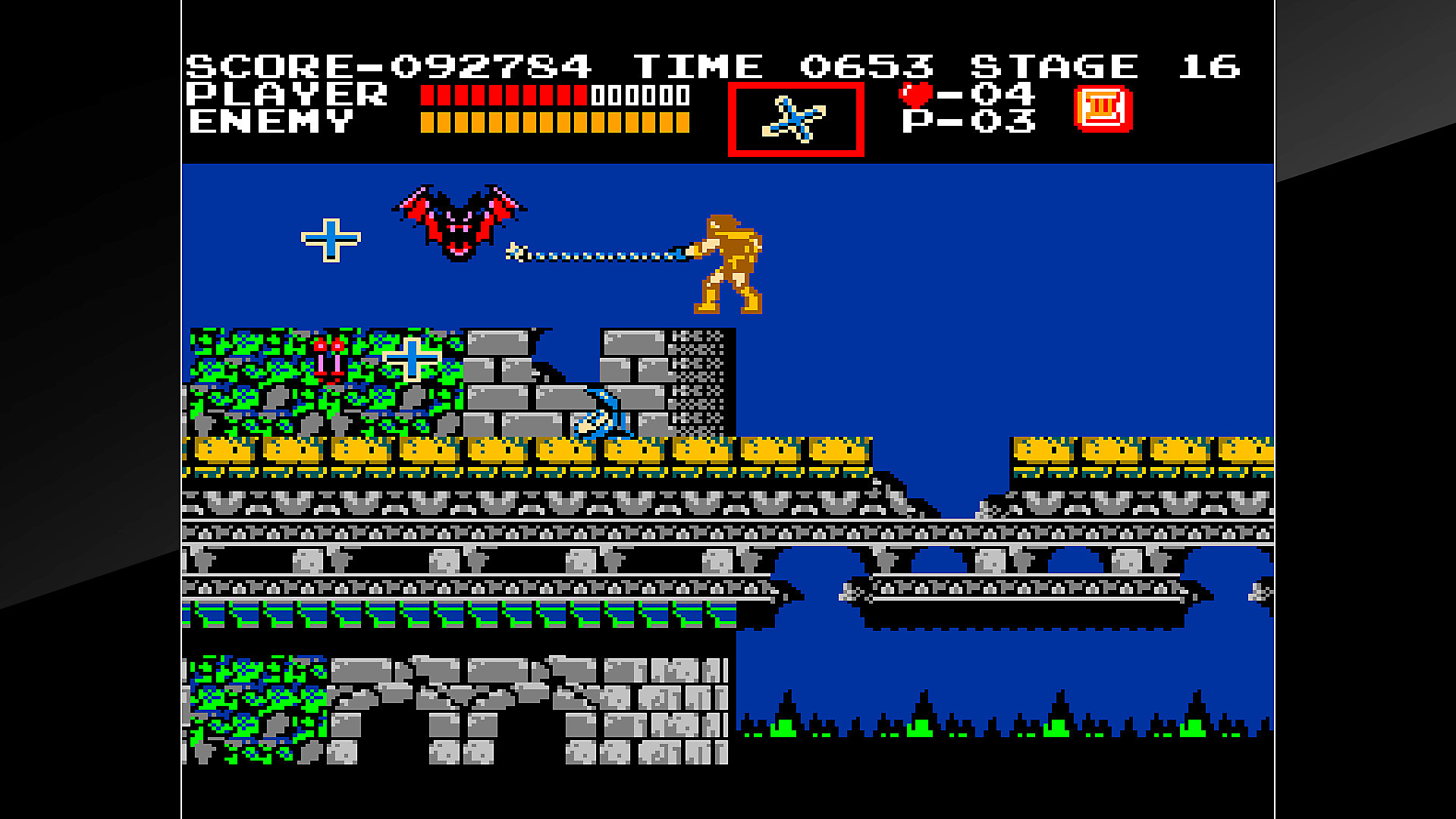 Jeu Arcade Archives VS. Castlevania en action