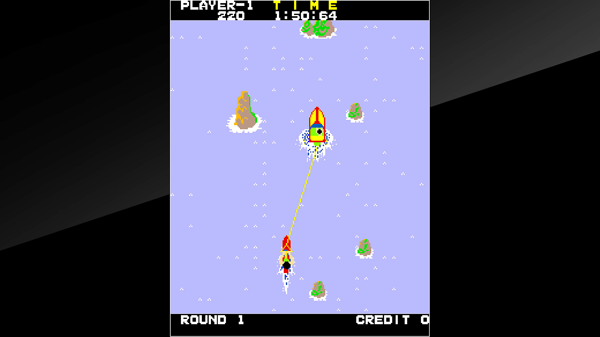 Arcade Archives WATER SKI Gameplay