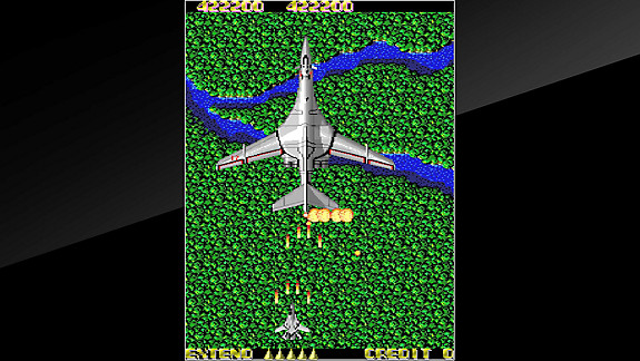 Arcade Archives XX MISSION - Screenshot INDEX