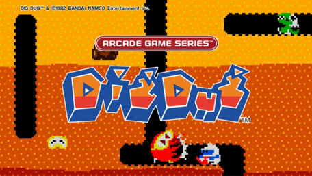 ARCADE GAME SERIES: DIG DUG Trailer Screenshot