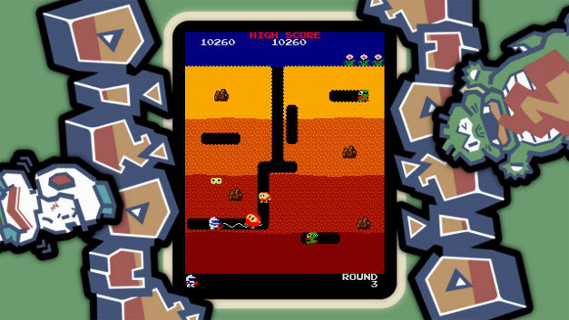 ARCADE GAME SERIES: DIG DUG Screenshot 4