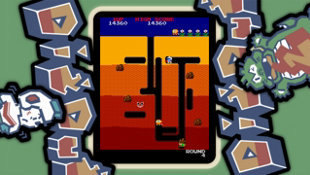ARCADE GAME SERIES: DIG DUG Screenshot 8