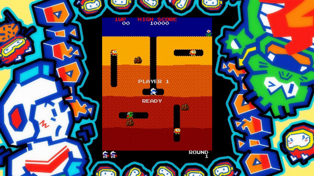 ARCADE GAME SERIES: DIG DUG Screenshot 7