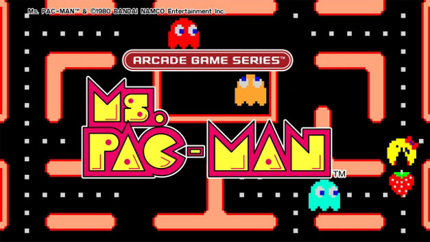 ARCADE GAME SERIES: Ms. PAC-MAN Screenshot 10