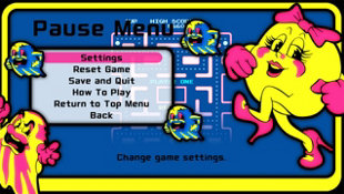 ARCADE GAME SERIES: Ms. PAC-MAN Screenshot 9