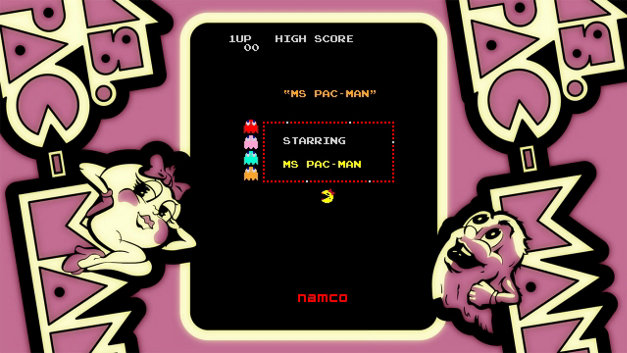 ARCADE GAME SERIES: Ms. PAC-MAN Screenshot 1
