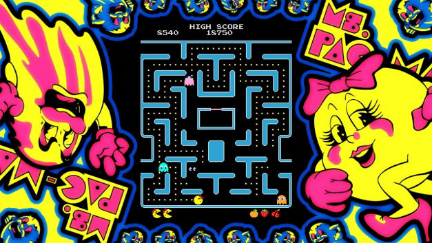 ARCADE GAME SERIES: Ms. PAC-MAN Screenshot 4