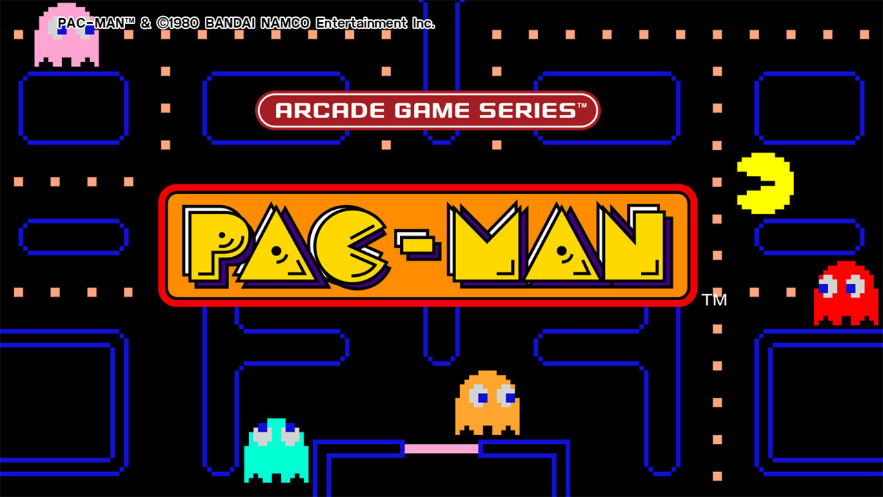 arcade game series pac man game ps4 playstation