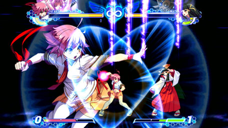 Arcana Heart 3: LOVE MAX!!!!! Trailer Screenshot