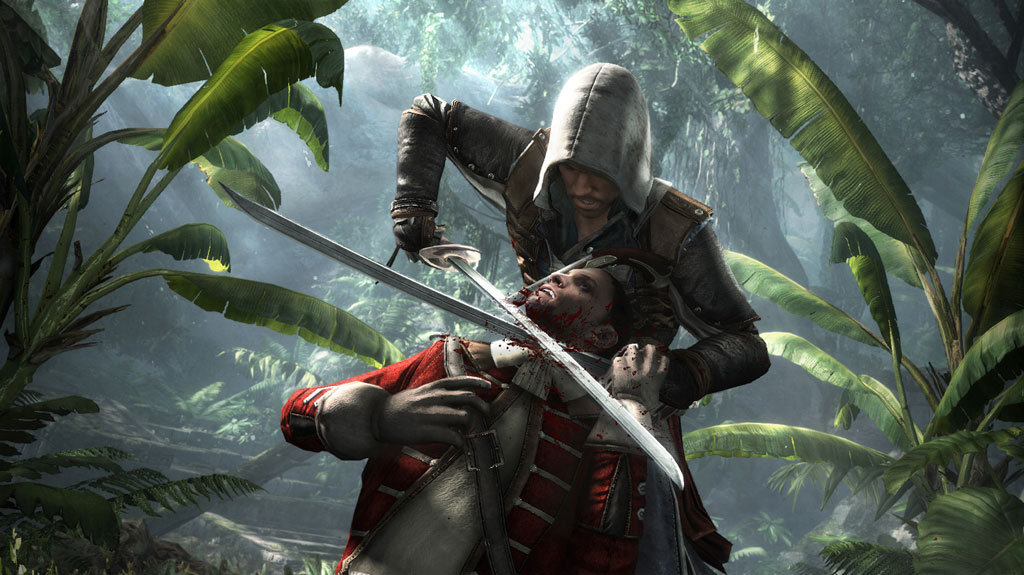 assassin's creed black flag ps4 gameplay 1080p video