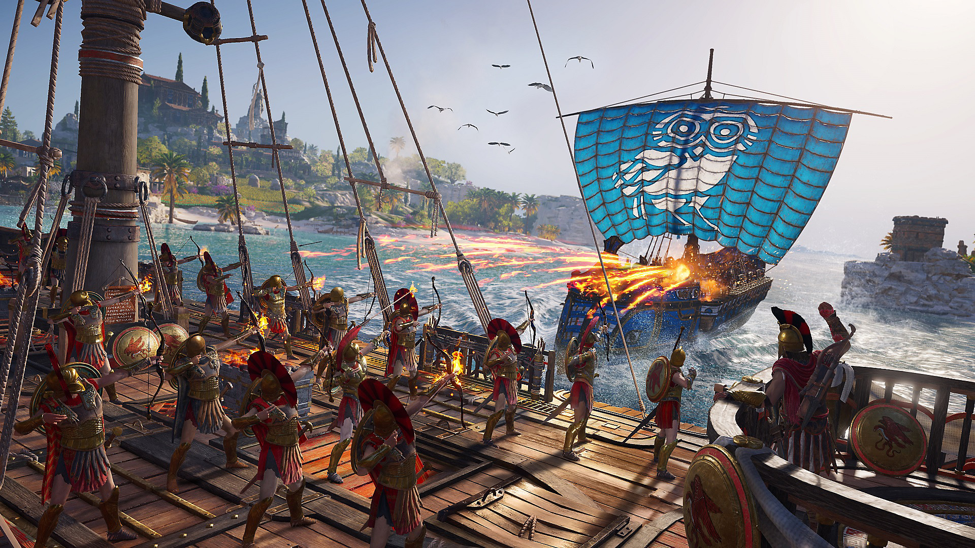 Assassin's Creed Odyssey: tierra de mitos y leyendas