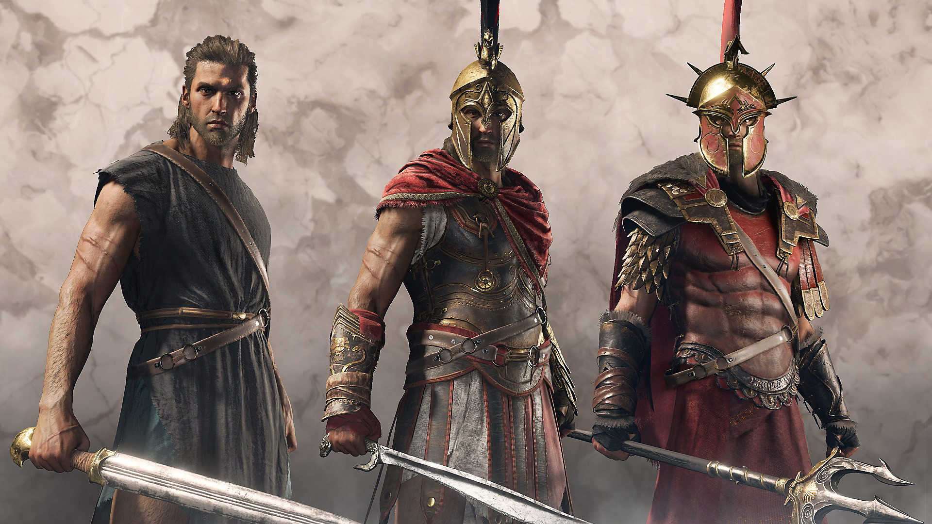 Héroes legendarios de Assassin's Creed Odyssey