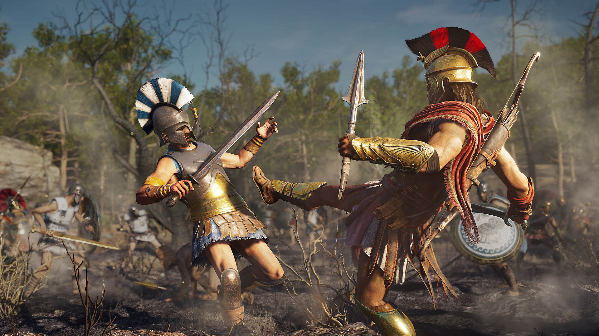 Assassin's Creed Odyssey Game - Spartan Kick