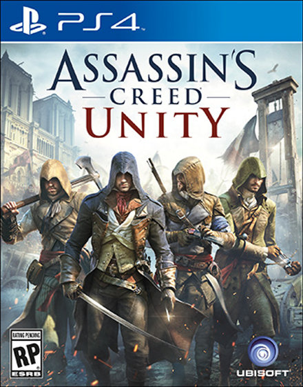 Assassin S Creed Unity Game Ps4 Playstation