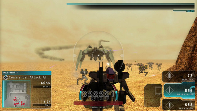 ASSAULT GUNNERS HD EDITION Screenshot 1