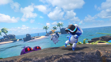 Recursos do jogo ASTRO BOT Rescue Mission para PS4