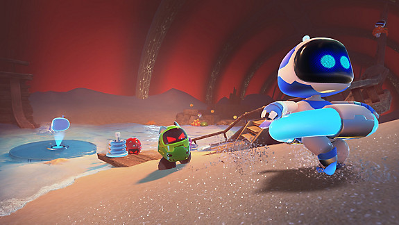 ASTRO BOT: RESCUE MISSION - Screenshot INDEX