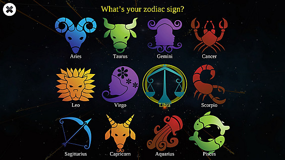 Astrology and Horoscopes Premium - Screenshot INDEX