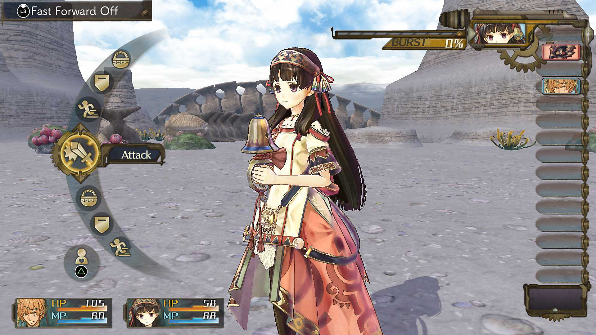 Atelier Shallie: Alchemists of the Dusk Sea DX en acción