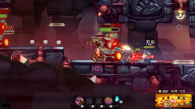 Awesomenauts Assemble! Screenshot 1
