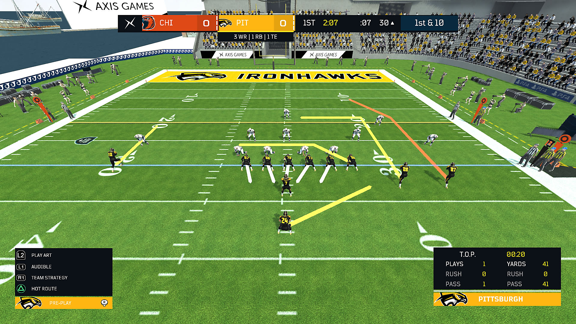 Axis Football 2018 Gameplay