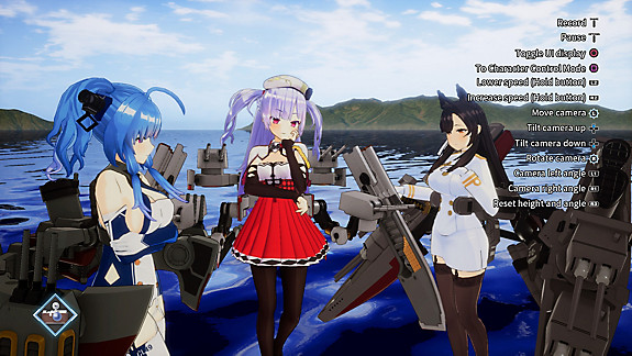 Azur Lane: Crosswave - Screenshot INDEX