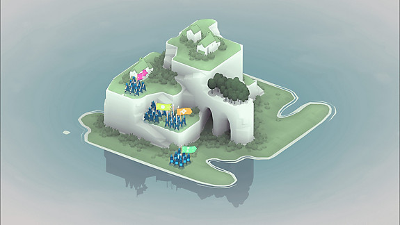 Bad North screenshot