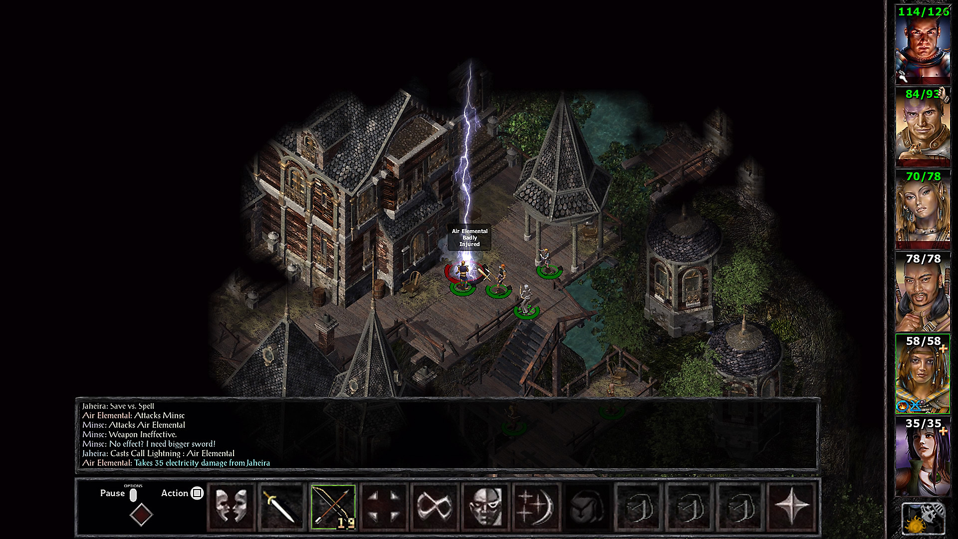 Baldur's Gate and Baldur's Gate II: Enhanced Editions in Action