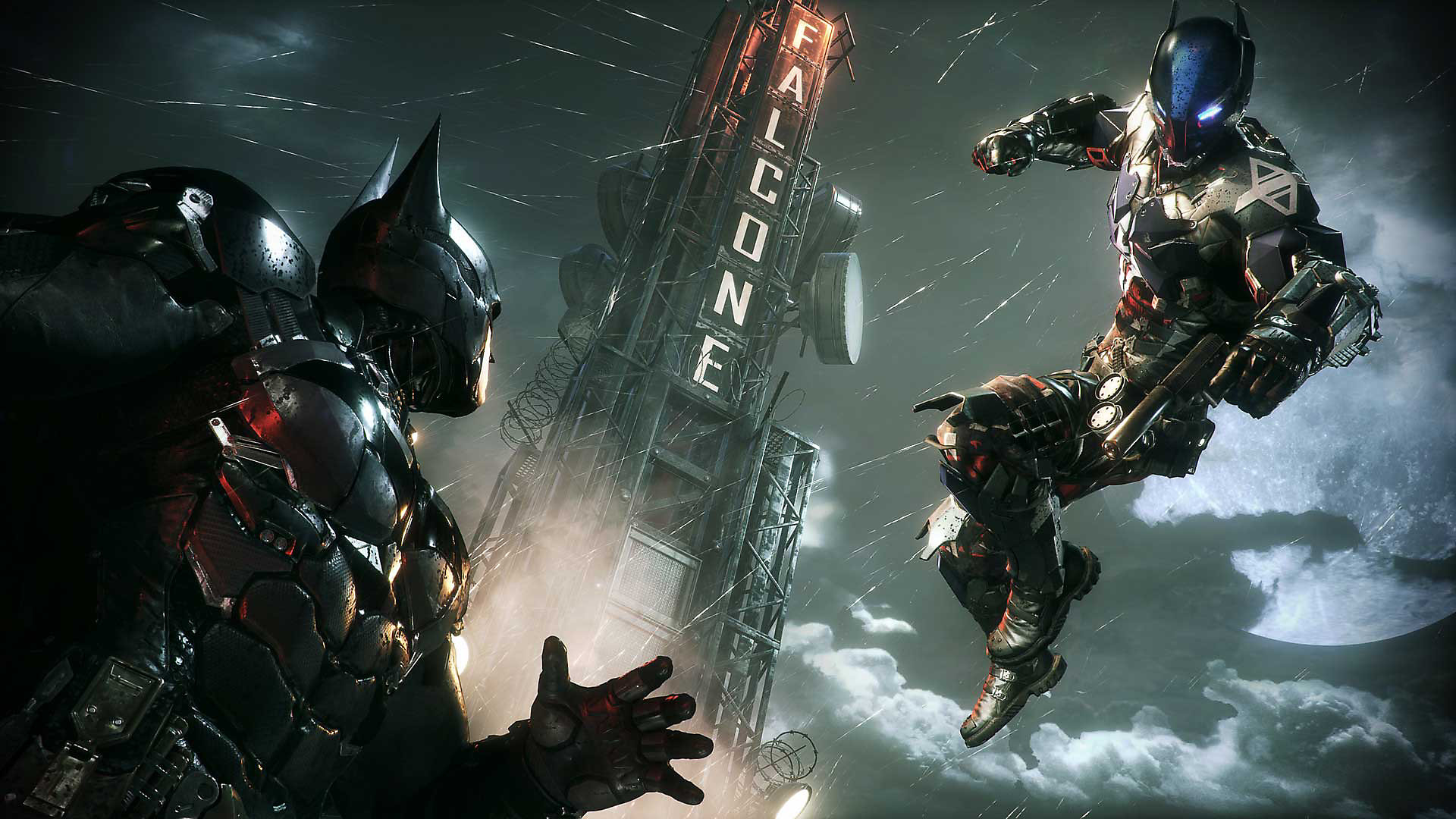 Batman versus The Arkham Knight