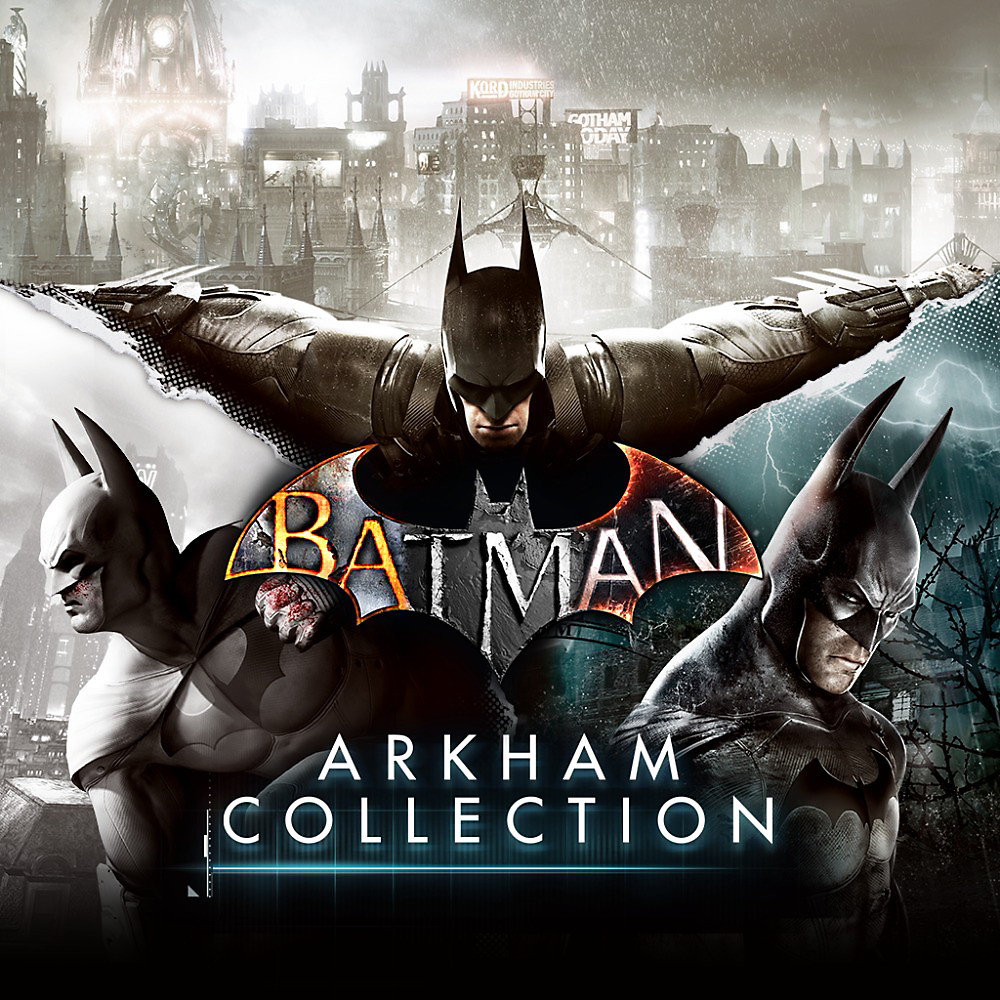 Batman Arkham Collection Game Ps4 Playstation