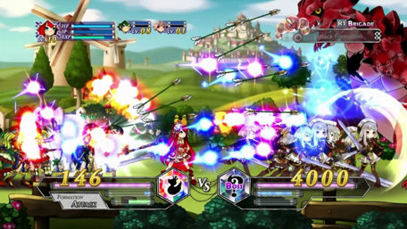 Battle Princess of Arcadias Trailer Screenshot