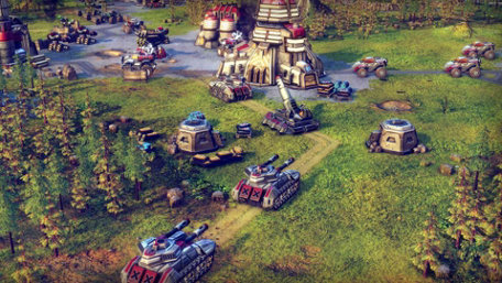 Battle Worlds: Kronos Trailer Screenshot