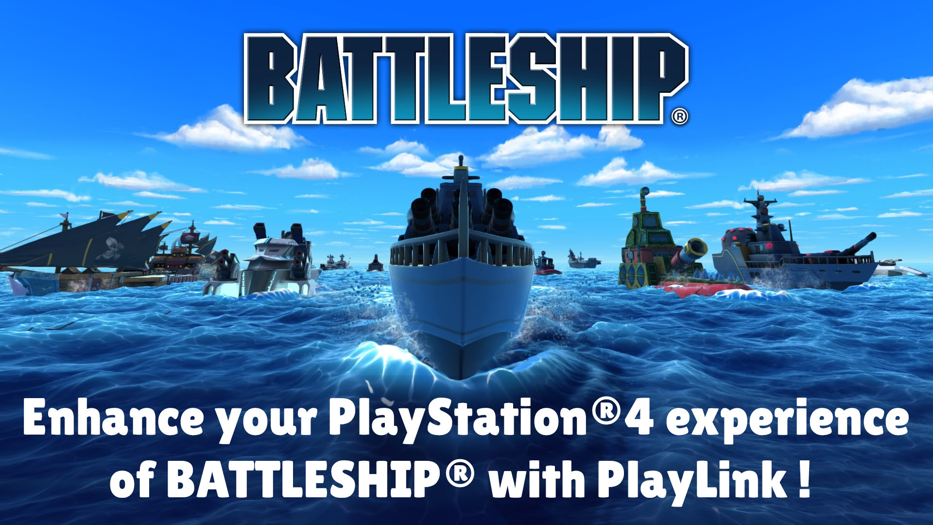 BATTLESHIP Playlink Game   PS4 - PlayStation