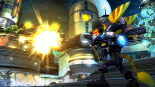 Ratchet & Clank® Future: A Crack in Time Screenshot 3