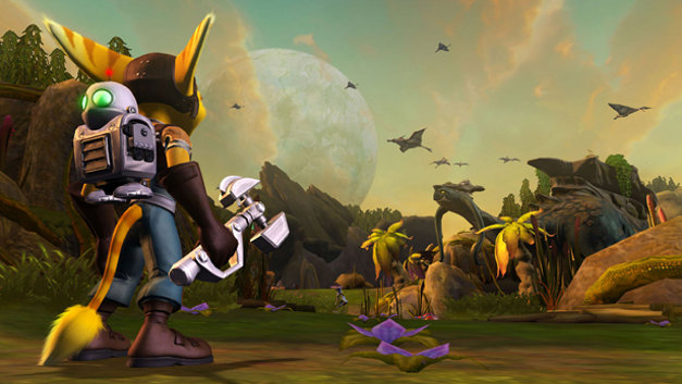 Ratchet & Clank Future: Tools of Destruction® Screenshot 1