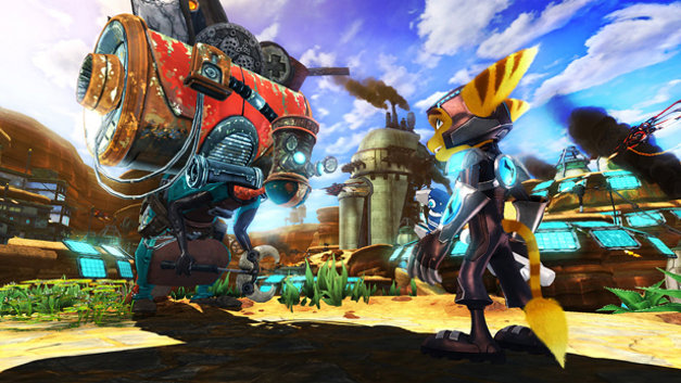 Ratchet & Clank® Future: A Crack in Time Screenshot 1