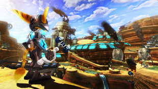 Ratchet & Clank® Future: A Crack in Time Screenshot 2