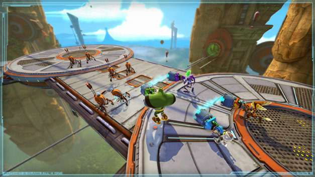 Ratchet & Clank: All 4 One™ Screenshot 1