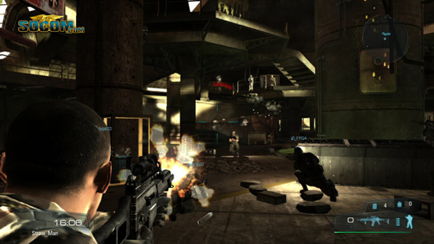 SOCOM: U.S. Navy SEALs Confrontation (Game Only) Screenshot 10
